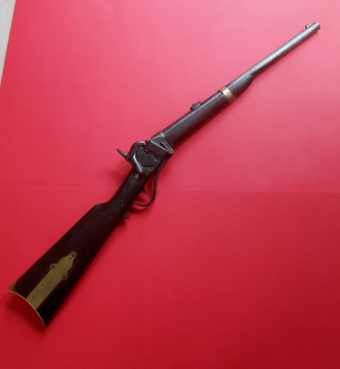 Model 1855 Sharps Cavalry Carbine, Manufactured To A British